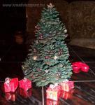 Karácsonyi pályázat - Asztali dísz - Minikarácsonyfa
