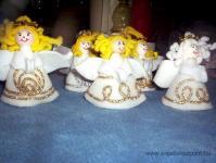 Karácsonyi pályázat - A kész angyalkák