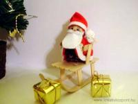 Karácsonyi pályázat - Toboz mikulás - Kész