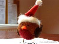 Karácsonyi pályázat - Tűnemezelt vörösbegy