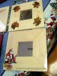 Karácsonyi pályázat - Ünnepi tükör dekupázzsal - Kész