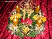 Karácsonyi pályázat - Adventi koszorúm