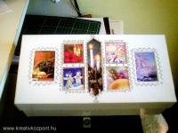 Karácsonyi pályázat - Ajándék tároló doboz