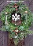 Karácsonyi pályázat - Karácsonyi ajtódísz