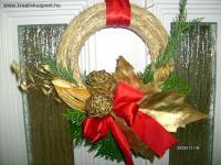 Karácsonyi pályázat - Karácsonyi ajtókoszorú