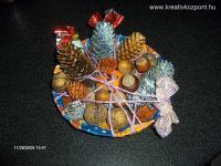Karácsonyi pályázat - Karácsonyi asztali dísz