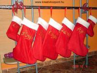 Karácsonyi pályázat - Kis csizmák a családnak - Kész