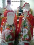 Karácsonyi pályázat - Mikulások dekorgumiból