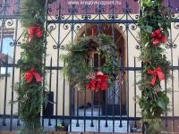 Karácsonyi pályázat - Kapu és ablakdisz