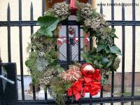 Karácsonyi pályázat - Kapu-koszorú