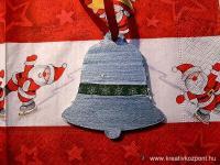 Karácsonyi pályázat - Karácsonyfa dísz - Kék harang