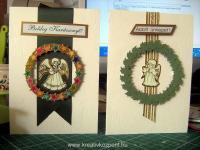 Karácsonyi pályázat - Karácsonyi képeslap - Kész