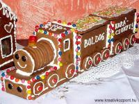 Karácsonyi pályázat - Karácsonyi mézeskalács vonat - A szerelvény