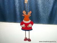 Karácsonyi pályázat - Rénszarvasos dísz