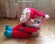 Karácsonyi pályázat - Télapó vödör