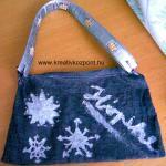 Karácsonyi pályázat - Téli táska - Kész