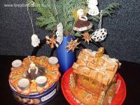 Karácsonyi pályázat - Asztali dekoráció mézeskalácsból