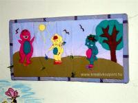 Karácsonyi pályázat - Barney és társai