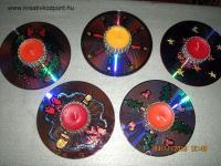 Karácsonyi pályázat - CD-gyertya