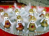Karácsonyi pályázat - Cserépangyalok
