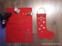 Karácsonyi pályázat - Ajándékcsizma Mikulásra