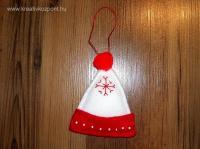 Karácsonyi pályázat - Filc sapka