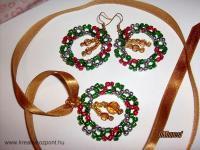 Karácsonyi pályázat - Karácsonyi koszorú szett