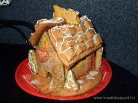 Karácsonyi pályázat - Mézeskalácsházikó