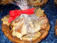 Karácsonyi pályázat - Mézeskalácsból ajándák tányérkák