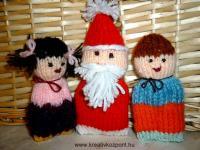 Karácsonyi pályázat - Mikulás és a gyerekek - Kész