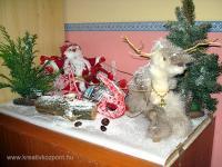 Karácsonyi pályázat - Télapó és Rudolf