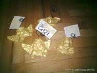 Karácsonyi pályázat - Angyalkás ültetőkártya