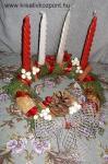 Karácsonyi pályázat - Adventi koszorú bogyókkal