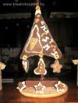 Karácsonyi pályázat - Filc asztaldísz karácsonyfa