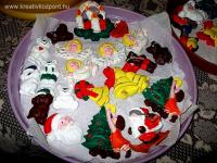 Karácsonyi pályázat - Gipszfigurák a karácsonyfára - Kész