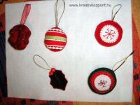 Karácsonyi pályázat - Karácsonyi apróságok (ajándék kísérő, vagy fenyődísz)