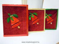 Karácsonyi pályázat - Képeslap szalmából