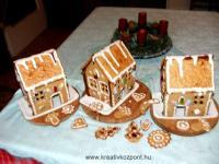 Karácsonyi pályázat - Mézeskalács házikó