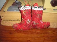 Karácsonyi pályázat - Mikulás csizma