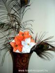 Karácsonyi pályázat - Karácsonyi origami gömb