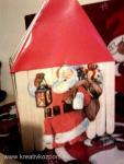 Karácsonyi pályázat - Télapó ház dobozból
