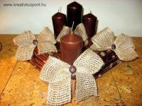 Karácsonyi pályázat - Útszéli-gyom koszorú - Kész