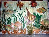 Nyári pályázat - Halacskás falikép