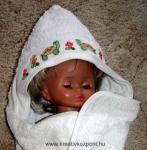Nyári pályázat - Keresztszemes babatörülköző