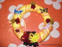 Nyári pályázat - Vidám virágos asztaldísz - Kész