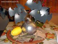 Halloween pályázat - Asztali dekoráció Halloween-re