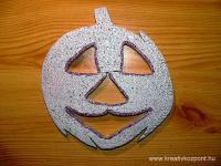 Halloween pályázat - Hungarocell tökfej