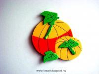 Halloween pályázat - Hűtőmágnes Halloween-re
