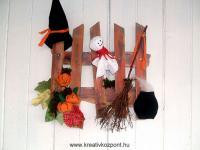 Halloween pályázat - Szellem-es kerítés - Kész
