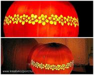 Halloween pályázat - Töklámpás faragása - Kész
